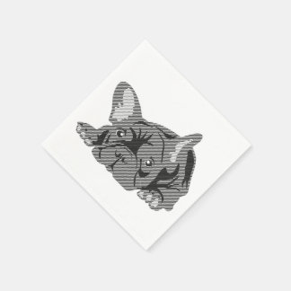 French Bulldog Napkins Paper Serviettes