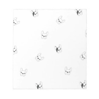 French Bulldog Note Pad