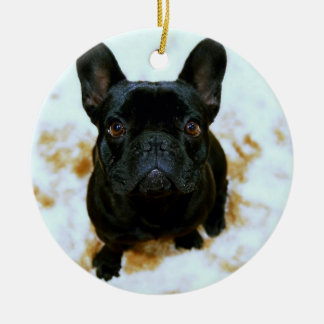 French Bulldog Ornament With Your Photo