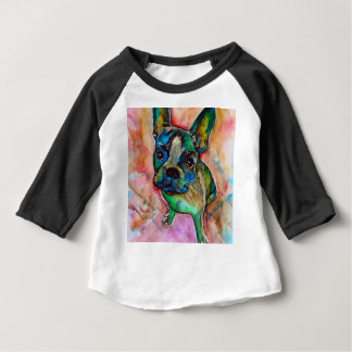 FRENCH BULLDOG PAINTING BABY T-Shirt