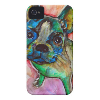 FRENCH BULLDOG PAINTING iPhone 4 COVERS