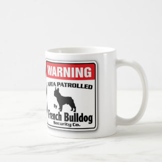 French Bulldog Patrolled Coffee Mug