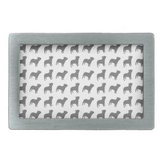 French Bulldog Pattern Belt Buckle