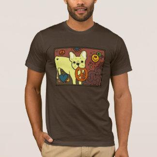French Bulldog Peace T-Shirt