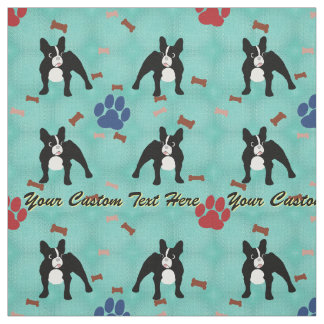 French Bulldog - Personalized Fabric