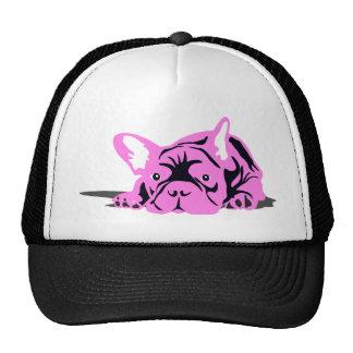 French Bulldog Pet pink Cap