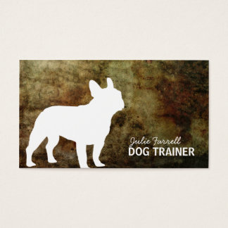 French Bulldog Pet Realated Business Card