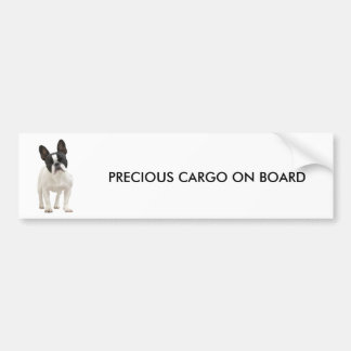 French Bulldog photo bumper sticker, gift idea Bumper Sticker