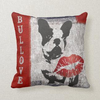 FRENCH BULLDOG PILLOW,  BULLDOG LOVE  KISS PILLOW