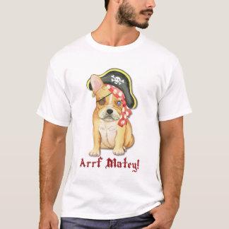 French Bulldog Pirate T-Shirt