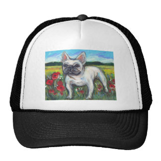 French Bulldog poppies Cap