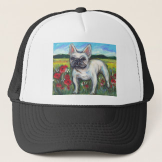 French Bulldog poppies Trucker Hat