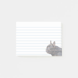 French Bulldog Post it notes
