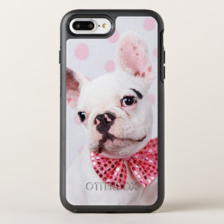 French Bulldog Puppy (7 Month Old, With Pink Bow) OtterBox Symmetry iPhone 7 Plus Case