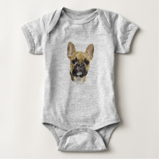 French Bulldog Puppy Baby Bodysuit