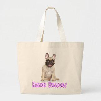 French Bulldog Puppy Dog Beach Tote Bag