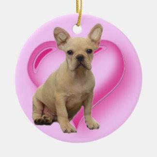 French Bulldog puppy ornament