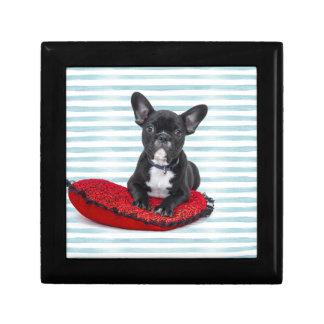 French Bulldog Puppy Portrait Gift Box