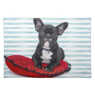 French Bulldog Puppy Portrait Placemat
