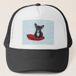 French Bulldog Puppy Portrait Trucker Hat