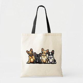 French Bulldog Quartet