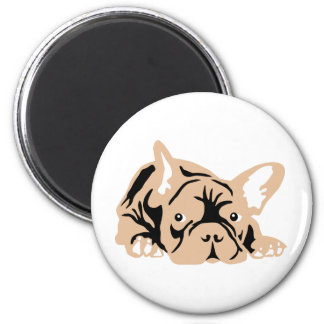 French Bulldog rose Magnet