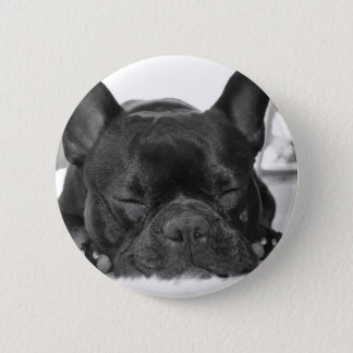 French Bulldog Round Button