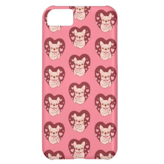 French Bulldog Sharing Love and Passion iPhone 5C Case