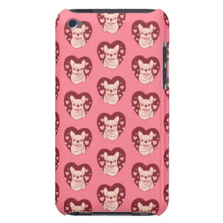 French Bulldog Sharing Love and Passion iPod Touch Case