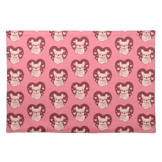 French Bulldog Sharing Love and Passion Placemat