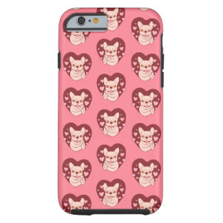 French Bulldog Sharing Love and Passion Tough iPhone 6 Case