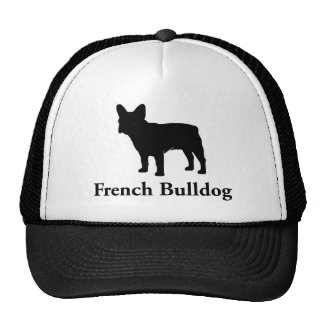 French Bulldog Silhouette Cap