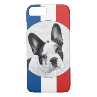 French Bulldog Sketch iPhone 7 Case