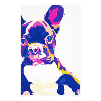 French Bulldog Stationery