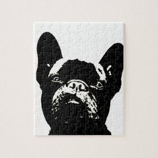 French Bulldog Stencil Jigsaw Puzzle