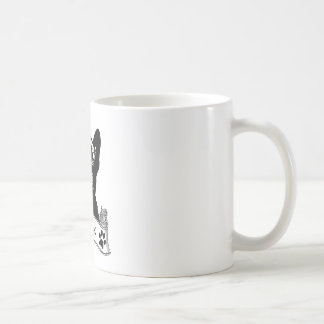 French Bulldog Stencil Personalized Coffee Mug