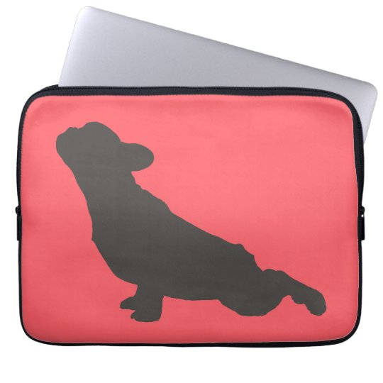 French Bulldog Stretching Laptop Sleeve