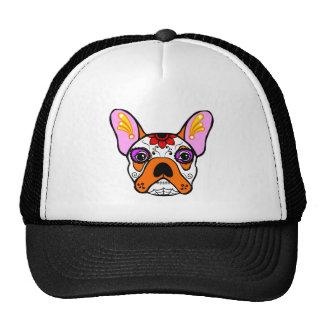 French Bulldog Sugar Skull Cap