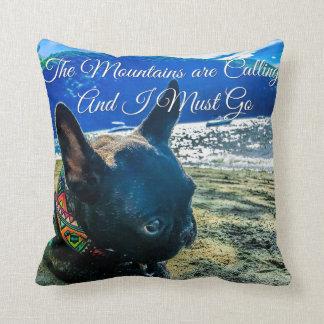 French Bulldog Summer Pillow