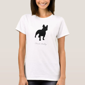 French Bulldog T-shirt (black silhouette)