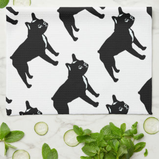French Bulldog Tea Towel