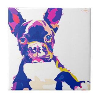 French Bulldog Tile