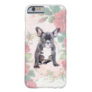French Bulldog valentine roses iphone case Barely There iPhone 6 Case