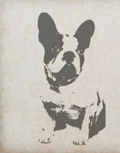 a1768e2abd6f5 French Bulldog Art   Wall Décor