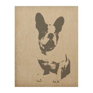 French Bulldog wall art