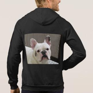 French_Bulldog white Hoodie