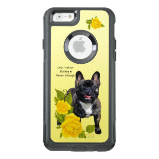 French Bulldog, with Yellow Roses OtterBox iPhone 6/6s Case