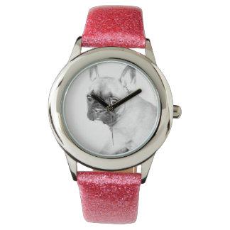 French Bulldog Wrist Watch