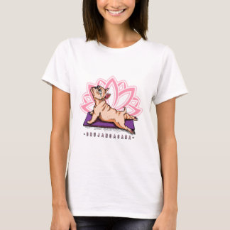 French Bulldog Yoga - Bhujangasana Pose - Funny T-Shirt