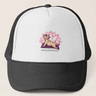 French Bulldog Yoga - Bhujangasana Pose - Funny Trucker Hat